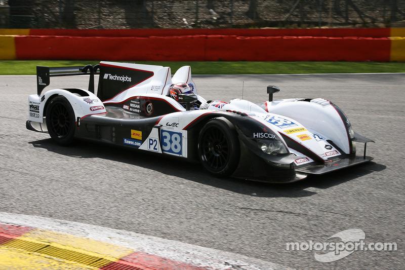 #38 Jota Zytek Z11SN-Nissan: Simon Dolan, Oliver Turvey, Lucas Luhr