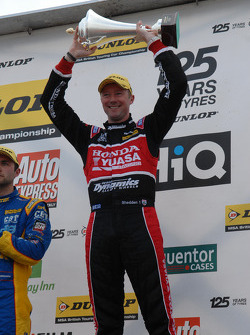 Round 9 Race winner Gordon Shedden