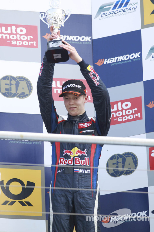 pódio: terceiro colocado Daniil Kvyat