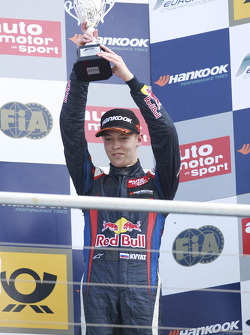 Podium: third place Daniil Kvyat