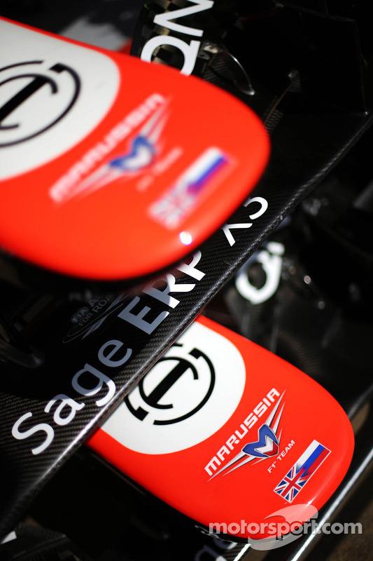 Marussia F1 Team MR02 bico