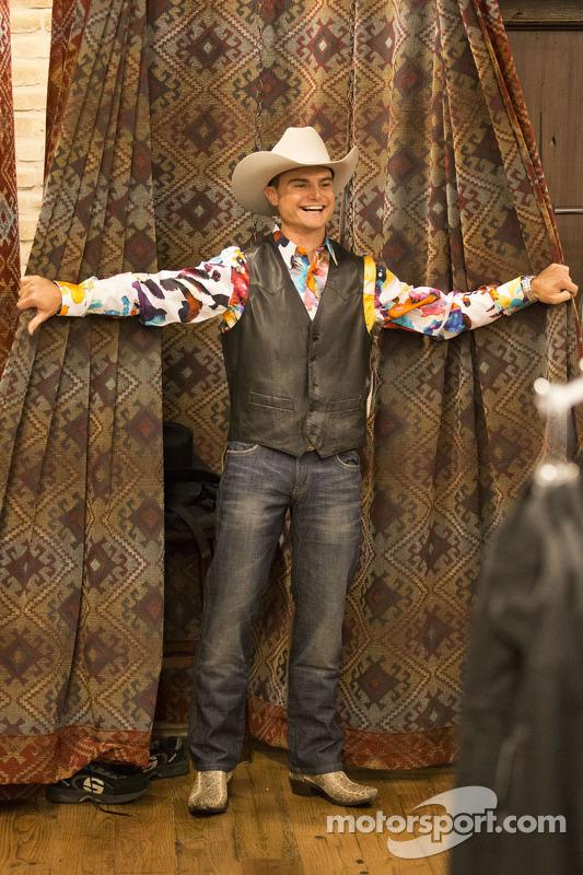 Tim Slade no estilo texano