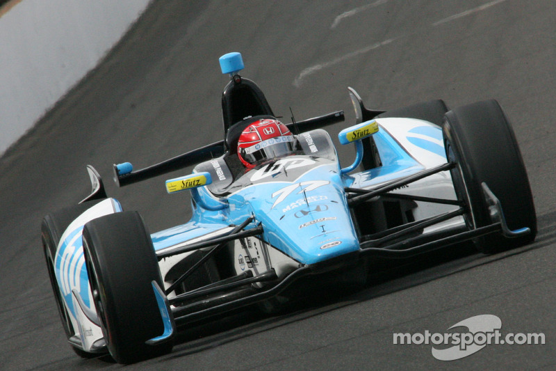 The Hewlett-Packard colors that Simon Pagenaud's Schmidt Peterson Motorsport-Honda carried in 2012 and '13 were very distinctive…