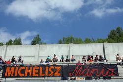 Fans van Norbert Michelisz, Honda Civic, Zengo Motorsport
