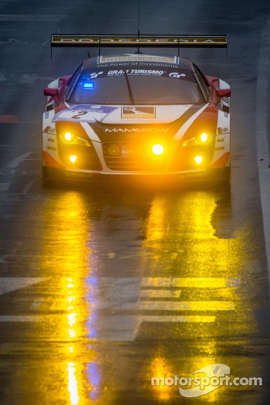 #2 Abt Team Mamerow Audi R8 LMS ultra (SP9): Christian Mamerow, Thomas Mutsch, René Rast, Marc Basse