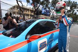 Carlos Tavares, Renault COO met de Renault Twin'Run Concept Car
