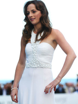 Laura Jordan, girlfriend of Paul di Resta, Sahara Force India F1, at the Amber Lounge Fashion Show