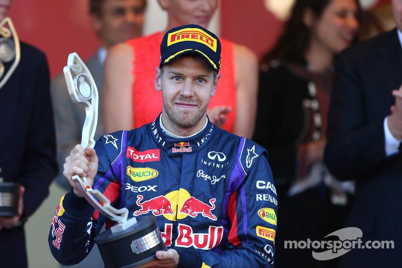 2e plaats Sebastian Vettel, Red Bull Racing