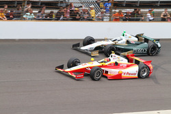 Helio Castroneves y Ed Carpenter