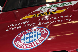 Hood of Miguel Molina, Audi Sport Team Phoenix Racing Audi A5 DTM