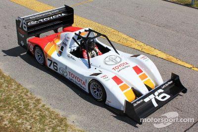 Toyota test de TMG EV 002