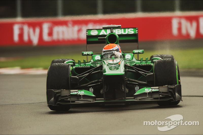 Alexander Rossi, Caterham CT03 Test Driver