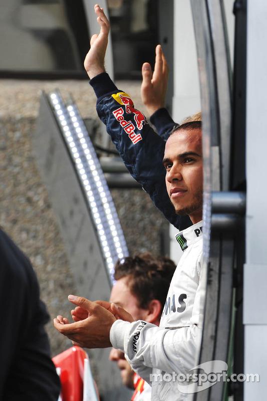 segundo colocado Lewis Hamilton, Mercedes AMG F1