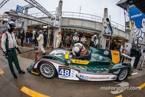 #48 Murphy Prototypes Oreca 03-Nissan: Mark Patterson, Karun Chandhok, Brendon Hartley