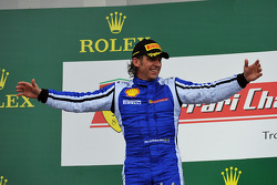 Coppa Shell podium: winner Henrik Hedman