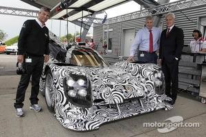 The new Porsche LMP1