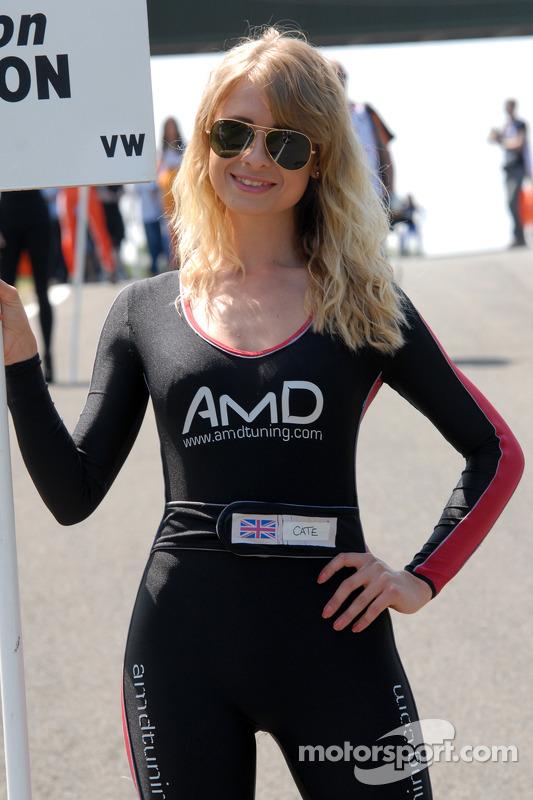 AMD Tuning.com Grid Girl