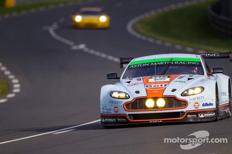 #99 Aston Martin Racing Aston Martin Vantage GTE: Rob Bell, Frederic Makowiecki, Bruno Senna