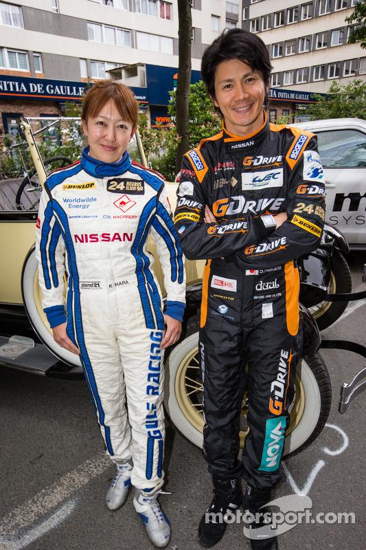 Keiko Ihara e Shinji Nakano