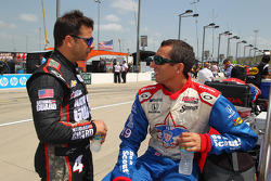 Oriol Servia and Justin Wilson