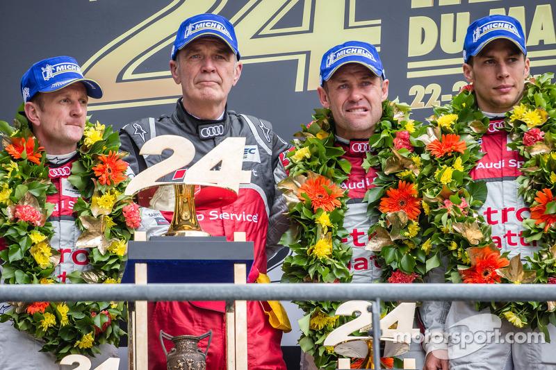 2013: Allan McNish, Tom Kristensen, Loic Duval