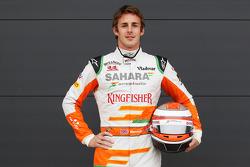 James Rossiter, Sahara Force India F1 Simulator Driver.