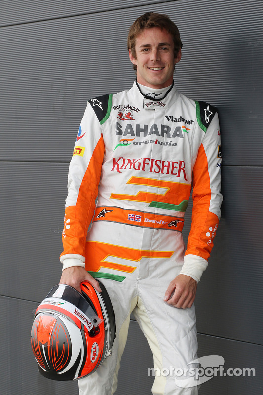 James Rossiter, Sahara Force India F1 Simulator Driver.