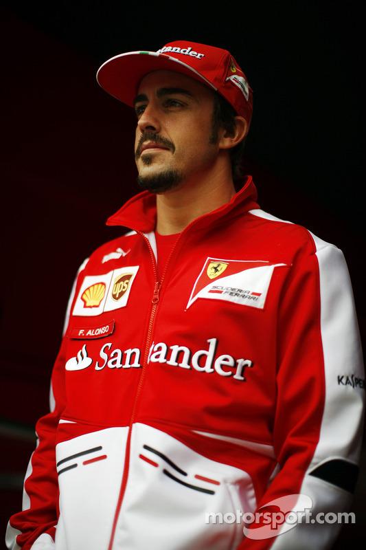 Fernando Alonso, Ferrari.