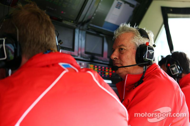 Pat Symonds, Marussia F1 Team Technical Consultant