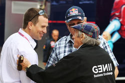 Peter Phillips, awi Alan Webber, Red Bull Racing e Jackie Stewart