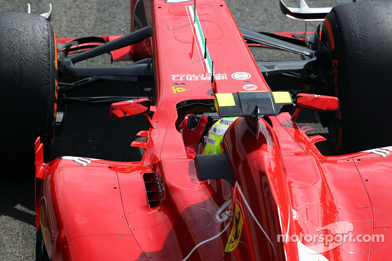 Felipe Massa, Ferrari F138 practices a start