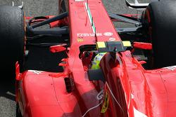 Felipe Massa, Ferrari F138, pratica uma largada
