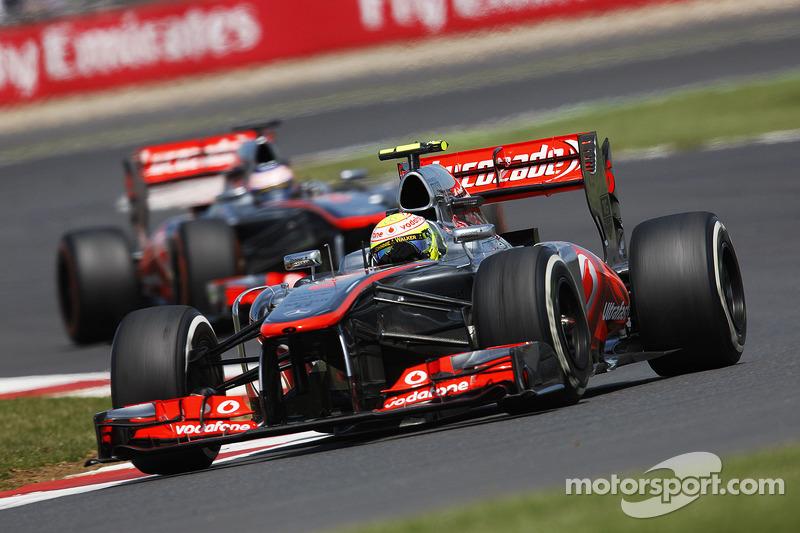 Sergio Perez McLaren MP4-28