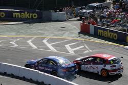 Fredy Barth, Wiechers Sport BMW E90 320 TC, Hugo Valente, CAMPOS RACING SEAT Leon WTCC