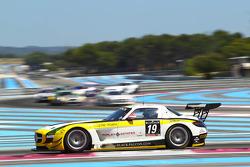 #19 Black Falcon: Oliver Morley, Andrii Lebed, Duncan Tappy, Mercedes SLS AMG GT3