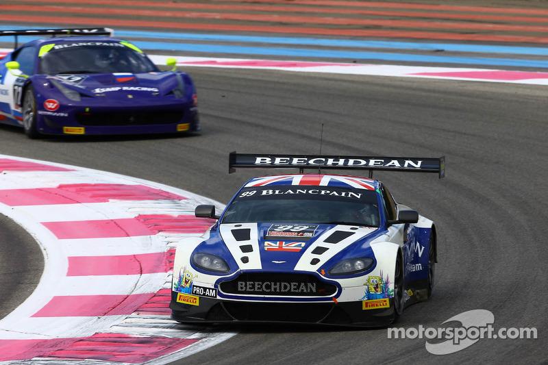 #99 Beechdean AMR: Andrew Howard, Daniel Mckenzie, Jonny Adam, Aston Martin Vantage GT3