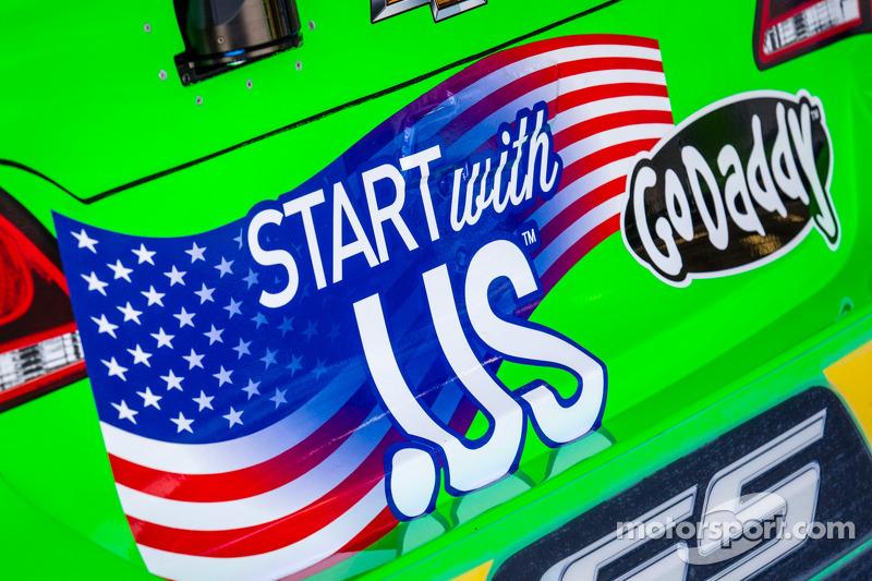 De auto van Danica Patrick, Stewart-Haas Racing Chevrolet