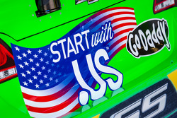 Car of Danica Patrick, Stewart-Haas Racing Chevrolet