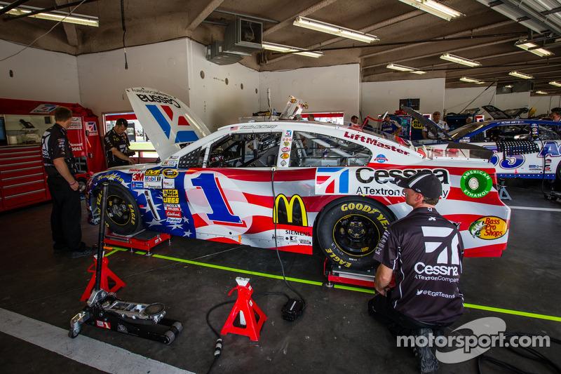 De auto van Jamie McMurray, Earnhardt Ganassi Racing Chevrolet
