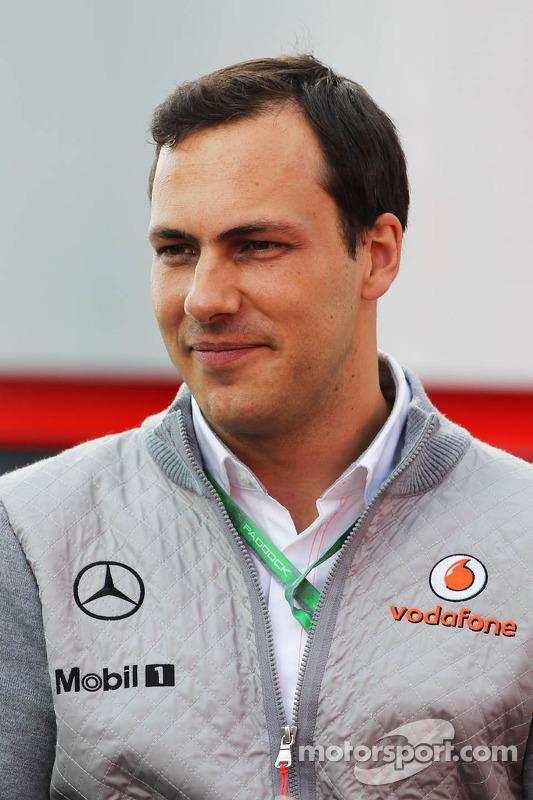 Gary Paffett, McLaren piloto de teste