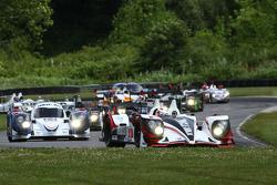 Start: #6 Muscle Milk Pickett Racing HPD ARX-03a: Klaus Graf, Lucas Luhr leads