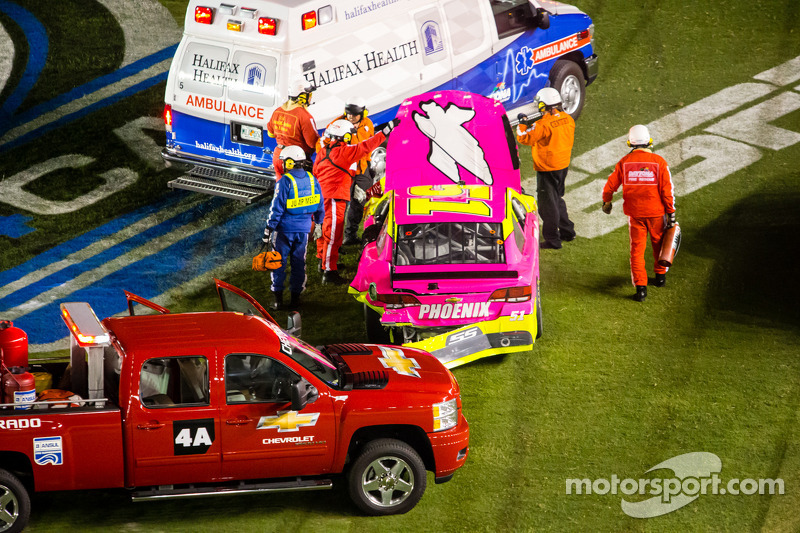 A.J. Allmendinger, Phoenix Racing Chevrolet na de crash