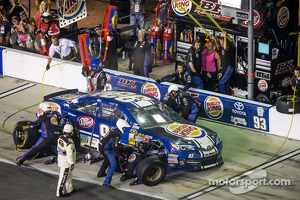 Pit stop for Travis Kvapil, BK Racing Toyota