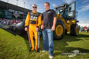 Daytona Rising event: Jeff Burton, Richard Childress Racing Chevrolet and Ryan Newman, Stewart-Haas Racing Chevrolet
