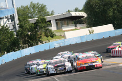 Saturday Open race restart