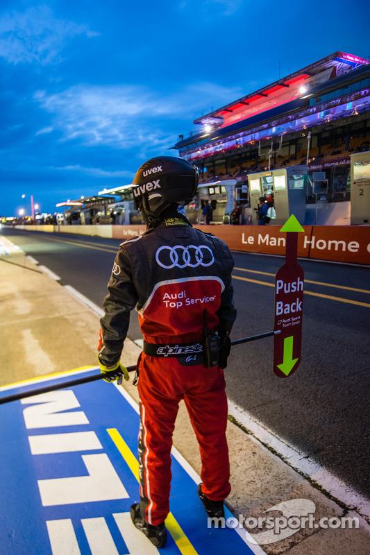 Membro da equipe Audi Sport