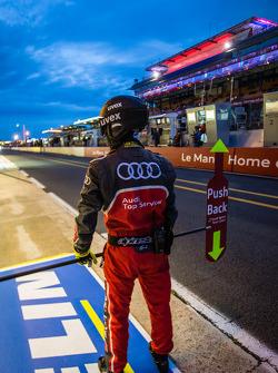 Audi Sport team member