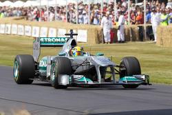 Lewis Hamilton, Mercedes MGP W02