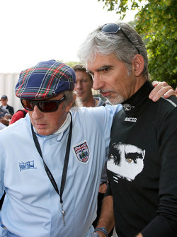 Sir Jackie Stewart, Damon Hill