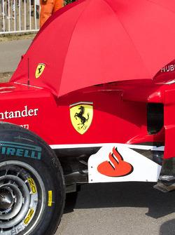 Ferrari F60 Keeping Cool